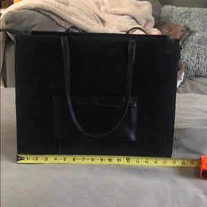 Beis Black Work Tote